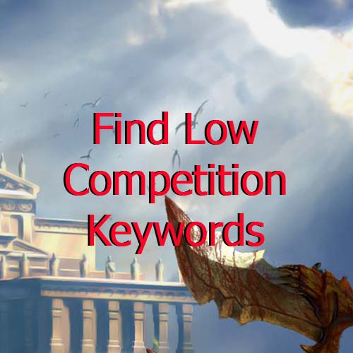 low competition keyword